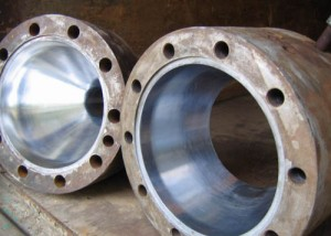Деталь фильеры линии по производству пластиковых труб