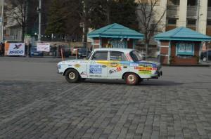 Москвич Иж 412 - скоростной слалом в Харькове